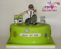 ben 10 cake by cakes-mania עוגת בן 10 מאת שיגעון העוגות - www.cakes-mania.com
