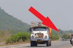 Proof of ghosts? 'Road crash victim' filmed walking across busy highway