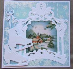 Kaartengalerij - Marianne Design Christmas 2017, Vintage Christmas, Christmas Time, Christmas Cards, Christmas Decorations, Xmas, Marianne Design Cards, Winter Wonderland Party, Elizabeth Craft