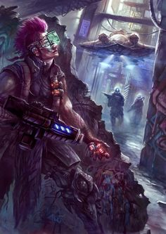 — Cyberpunk by Gathen9 on DeviantArt