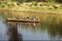 1989,  Am Mekong Delta Südvietnam;      1989, on the Mekong Delta South-Vietnam  ;