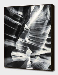 Waves of sandstone at Antelope main illustration