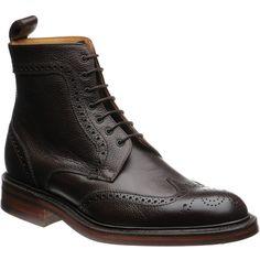Calder brogue boot