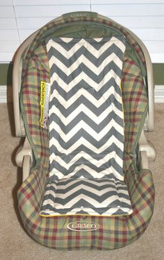 Car seat cooler infant and convertible Carseat by morningblossoms