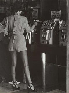 We could wear this now in 2013. Amazing. Biddy Craft/Reno, Nevada, 1949.Photo by Lisette Model.