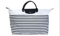 Longchamp with stripes... this screams my name!