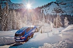 ML Mercedes-Benz snow off road experience