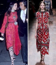 Then and Now: These Sexy '70s Trends Are Making a Comeback - Lace-Up Sandals from #InStyle