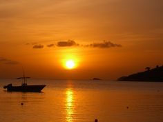 Tranquility Bay, Antigua sunset