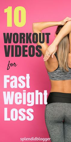 10 Workouts to lose weight fast! click through for 10 killer weight loss workout videos you can sweat to from the comfort of your own home. Lose weight and build muscle fast with this top 10 workouts. Lose weight fast 10 pounds. Lose weight fast in a week. #weightloss