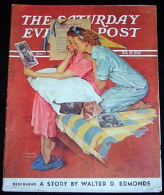 Norman Rockwell, the greatest illustrator of our time!