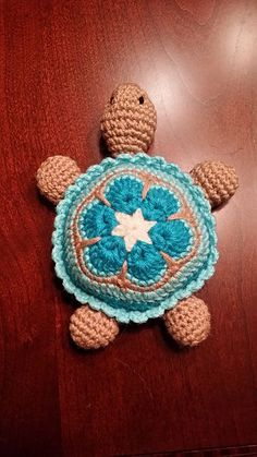Ravelry: CindyEggleston's Baby Turtle Instructions, what a sweet little guy!