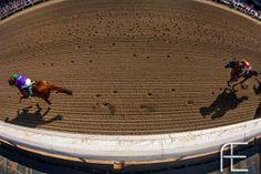 California Chrome pulling away in the Santa Anita Derby. Great shot!