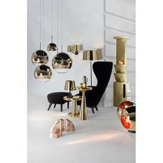 Tom Dixon Mirror Ball 1 Light Globe Pendant
