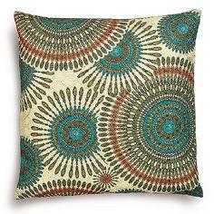 Culture Vulture Danane Olive Cushion