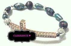 Pretty an' Tique Beaded Bracelet by RandRsWristCandy on Etsy, $4.00