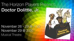 Dr Dolittle, Young Actors, Stony, Musical Theatre, Jr, Musicals, Wordpress, It Cast, Seasons