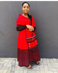 there are some incredible styles you can see with TRADITIONAL XHOSA AND ZULU that will make you the center of attention at any occasion South African Traditional Dresses, Traditional Dresses Designs, Traditional Fashion, African Fashion Skirts, South African Fashion, African Fashion Designers, African Print Clothing, African Print Dresses, African Dresses For Women
