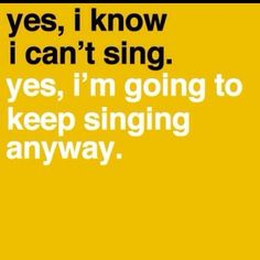 My equally zany co-worker sent this to me.  Watch out if you walk into my class when I am singing!