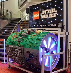 Barrel Organ Made of 20,000 Lego Bricks Plays Star Wars Theme