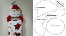 Mold to make a Christmas towel holder Christmas Towels, Christmas Stockings, Christmas Crafts, Merry Christmas, Christmas Decorations, Xmas, Christmas Ornaments, Holiday Decor, Christmas Ideas