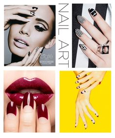 """""""#nailart"""" by shirinmir ❤ liked on Polyvore featuring Ciaté, Sophy Robson and nailart"""