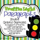 I enjoy teaching the basic beginners paragraph structure through the use of a Traffic Light analogy:   Green--Go! Start your paragraph with a topic...