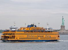 Take gorgeous pictures together on the Staten Island Ferry.   17 NYC Summer Date Ideas That Cost Less Than $20