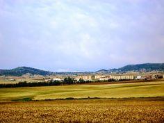 A landscape from El Hachimia . Algeria.
