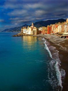 Camogli (Liguria)... Italian Riviera...