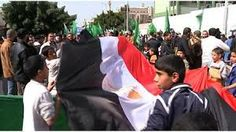 """Hamas demonstration in Gaza show hostility for """"Egypt, Israel and Abbas"""