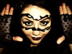beautiful makeup mask