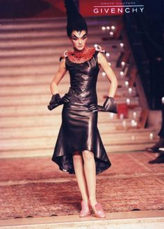 90srunway:  Givenchy by Alexander McQueen F/W 1997 Haute Couture