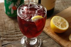 This Tinto de Verano recipe is the Spanish version of a wine cooler.