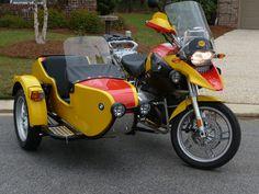 BMW 1200 GS w/ side car
