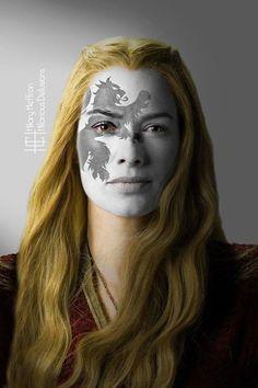 Cersei by Hilary Heffron