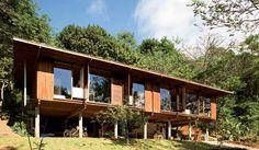 Experimental, conjunto de casas transpira soluções ambientais. Cristina Xavier