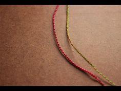 pulsera de hilos faciles y rapida pulsera de los deseos - YouTube