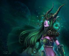 Fan Art of Night Elf Druid for fans of World of Warcraft. Art Warcraft, World Of Warcraft Gold, Deviant Art, Dragons, Elf Druid, Warcraft Characters, Fantasy Characters, Night Elf, Heroes Of The Storm