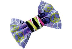 Peace And Love It Bow  #ScotchStyle http://scotchducttape.com/projects/peace-and-love-it-bow