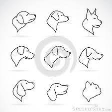 Resultado de imagem para dog minimalist tattoo