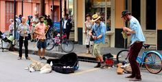 FRENCHMEN STREET When the sun goes down, Frenchmen Street comes alive. Grab a drink and take to the streets to watch some of the best jazz performances in all of New Orleans. The music emanating from Frenchmen is infectious; listen, dance, and drink along to the music all night!