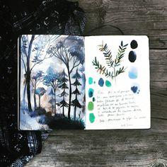 """Mi piace"": 1,273, commenti: 33 - adolfo serra (@adolfoserra) su Instagram: ""Process, stains and ideas. ""The forest in me""  Procesos, manchas e ideas. ""El bosque dentro de mí"""""