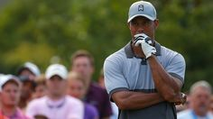 Tiger Woods is still playing coy about a potential return to the PGA Tour, and after hitting three balls in the water Monday morning, that's likely prudent.