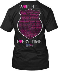 Police Wives Unite T shirt http://teespring.com/worth