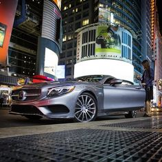 It's time to turn in for the night, and that means giving up the keys to the S-Class Coupe. We've had a great time at @mbfashionweek and we can't wait to come back next year. #MBPhotoPass @CuteCircuit #Mercedes #Benz #SClass #Coupe #instacar #carsofinstagram #germancars #luxury #NY #NYC #MBFW