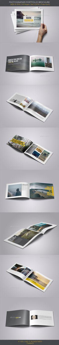 Portfolio Brochure Template #design Download: http://graphicriver.net/item/portfolio-brochure-vol1/9871120?ref=ksioks