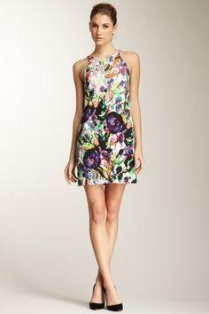 Garden Bloom Sleeveless Dress