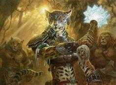 cheetah-woman warrior