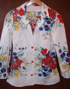 Creative Jacket, Reuse of Tablecloth